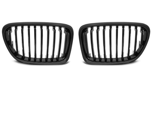 Тунинг решетки бъбреци черен лак за BMW X1 E84 10.09-08.12