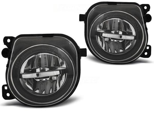 Тунинг LED халогени черни за BMW F10, F11, F07 LCI 06.13-16