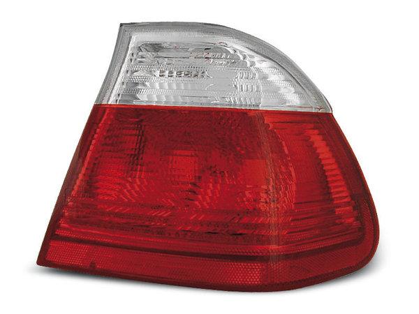 Тунинг стопове за BMW E46 05.1998-08.2001 седан с червена и бяла основа
