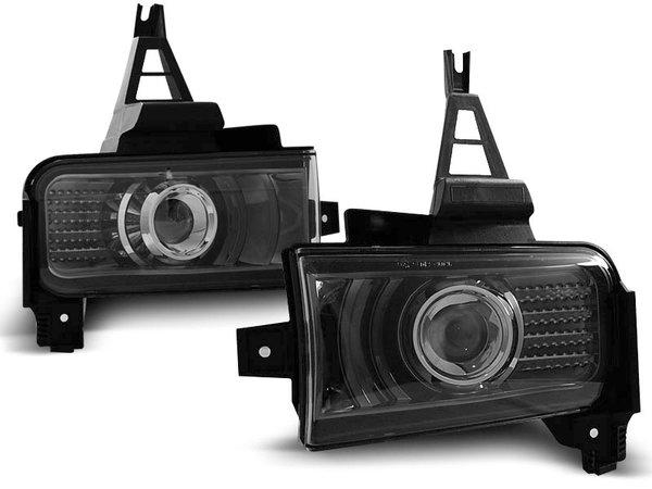 Тунинг халогени черни с LED светлини за TOYOTA LAND CRUISER FJ200 07-