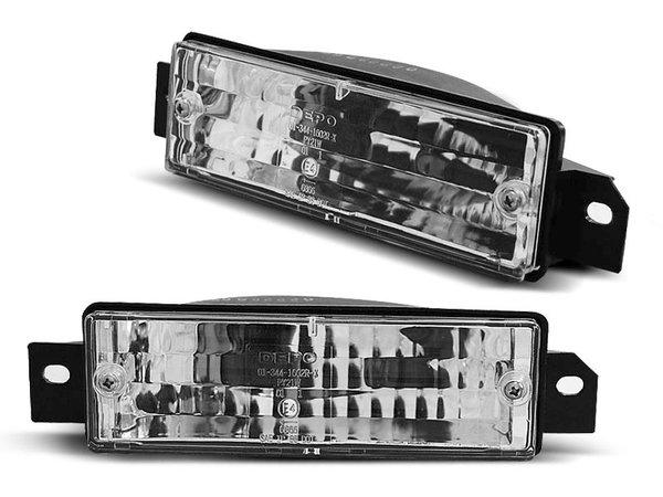 Тунинг мигачи кристални в броня за BMW E30 87-06.94