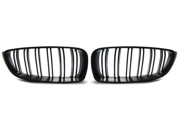 Тунинг решетки бъбреци черен мат за BMW F32,F33,F36 13- M4 LOOK