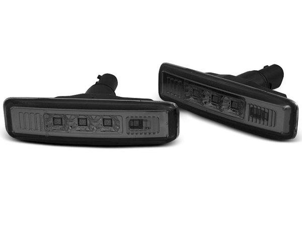 Тунинг LED мигачи в кални опушени за BMW E39 09.95-08.03