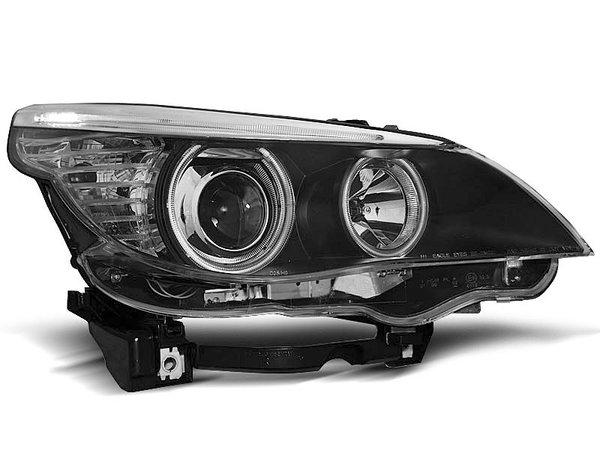 Тунинг фарове с CCFL ангелски очи за BMW E60/E61 2003-2007