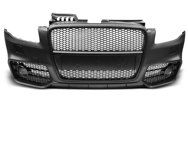 Тунинг броня предна черна за AUDI A4 04-08 RS STYLE