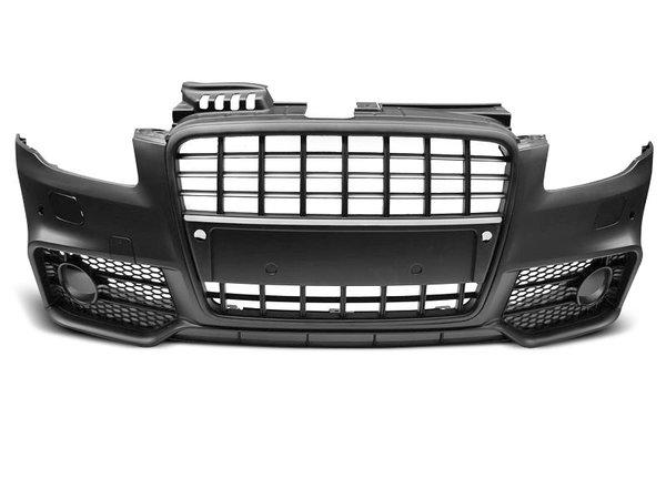 Тунинг броня предна черна за AUDI A4 04-08 S-LINE PDC