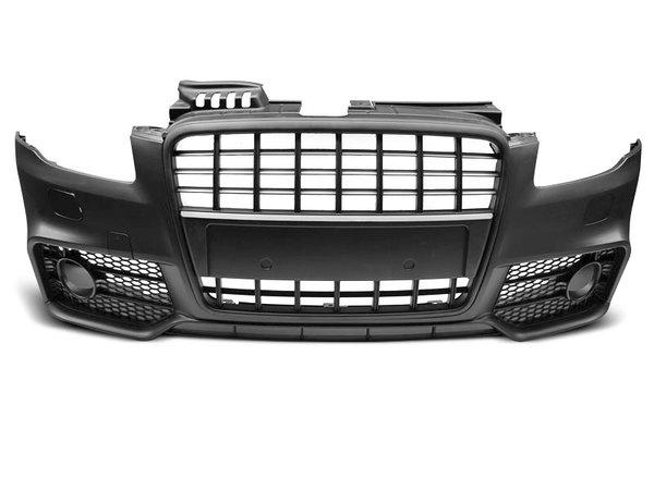 Тунинг броня предна черна за AUDI A4 04-08 S-LINE