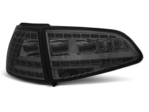Тунинг LED стопове опушени за Volkswagen GOLF 7 2013- хечбек, версия без фабрични led стопове