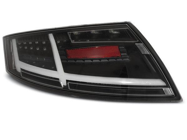 Тунинг LED стопове черни за Audi TT 04.2006-02.2014