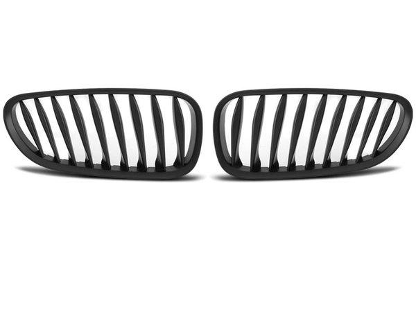 Тунинг решетки бъбреци черен мат за BMW Z4 (E85) 06-08 LIFT
