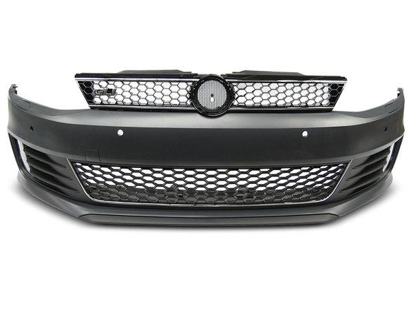 Тунинг броня предна за VW JETTA VI 11- GLI STYLE PDC