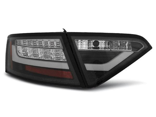 Тунинг LED стопове черни за Audi A5 2007-06.2011 купе, версия без фабрични led стопове