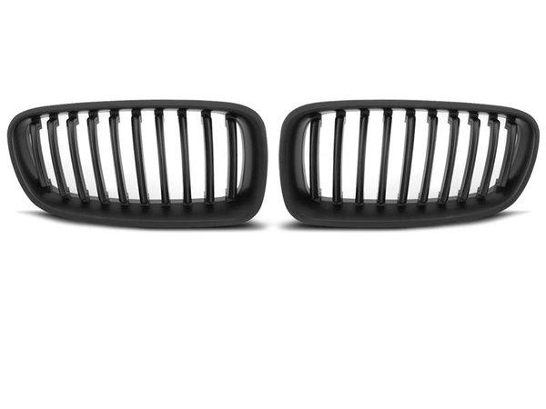 Тунинг решетки бъбреци черен мат за BMW F30 / F31 10.11-
