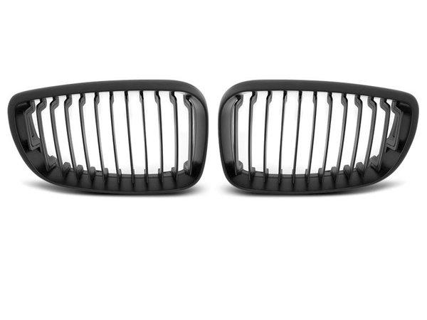 Тунинг решетки бъбреци черен мат за BMW E87/E81/82/88 09.07-13