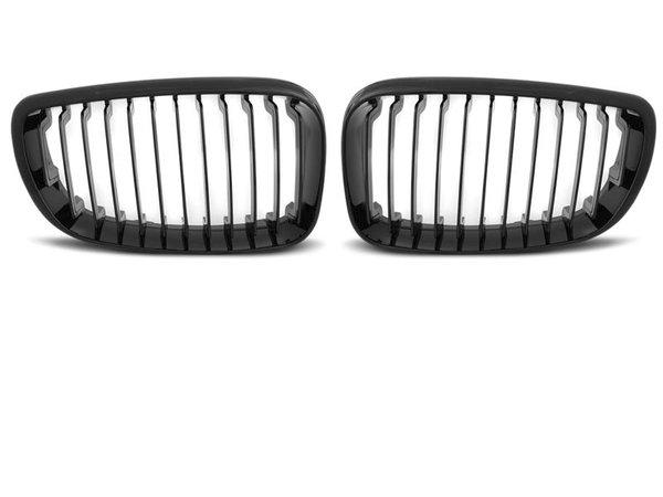 Тунинг решетки бъбреци черен лак за BMW E87/E81/82/88 09.07-13
