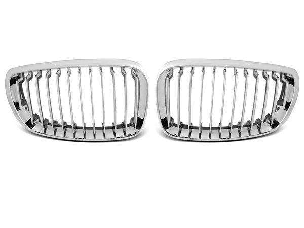 Тунинг решетки бъбреци хром за BMW E87/E81/82/88 09.07-13