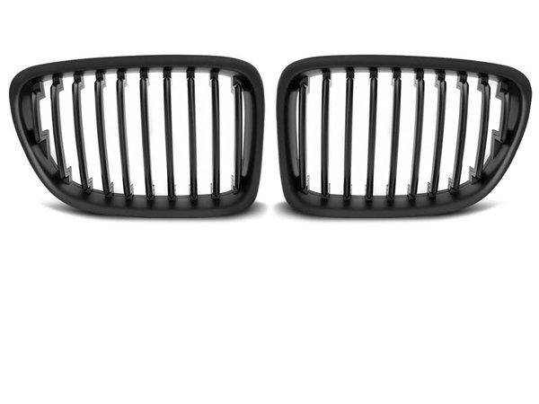 Тунинг решетки бъбреци черен мат за BMW X1 E84 10.09-08.12
