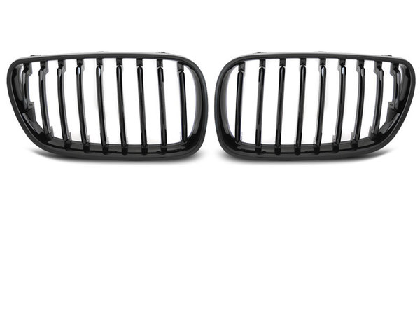 Тунинг решетки бъбреци черен лак за BMW X3 E83 09.06-08.10