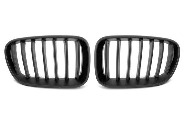 Тунинг решетки бъбреци черен мат за BMW X3 F25 10-07.14
