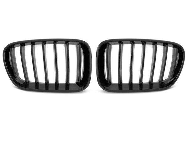 Тунинг решетки бъбреци черен лак за BMW X3 F25 10-07.14