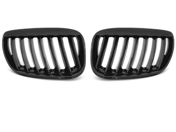 Тунинг решетки бъбреци черен лак за BMW X5 E53 04-06