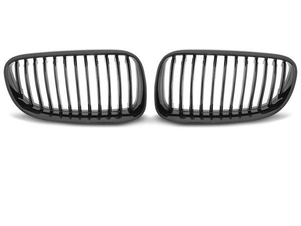 Тунинг решетки бъбреци черен лак за BMW E92 10-07.13 C/C