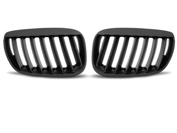 Тунинг решетки бъбреци черен мат за BMW X5 E53 04-06
