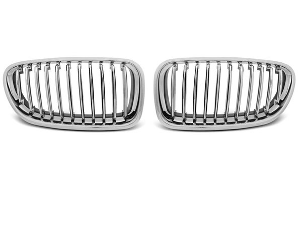 Тунинг решетки бъбреци хром за BMW F10 / F11 10-