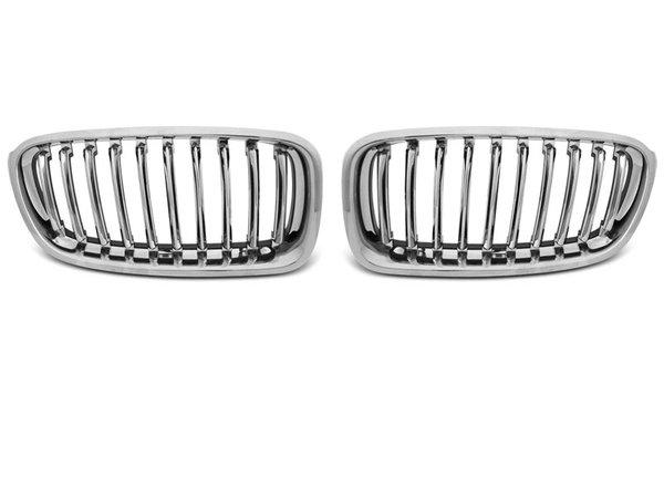 Тунинг решетки бъбреци хром за BMW F30 / F31 10.11-