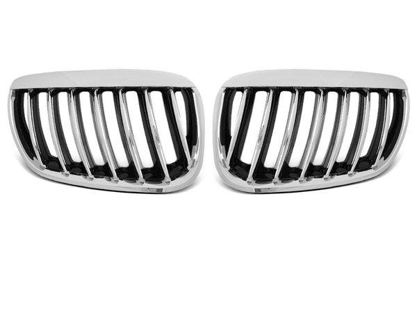 Тунинг решетки бъбреци хром за BMW X5 E53 04-06