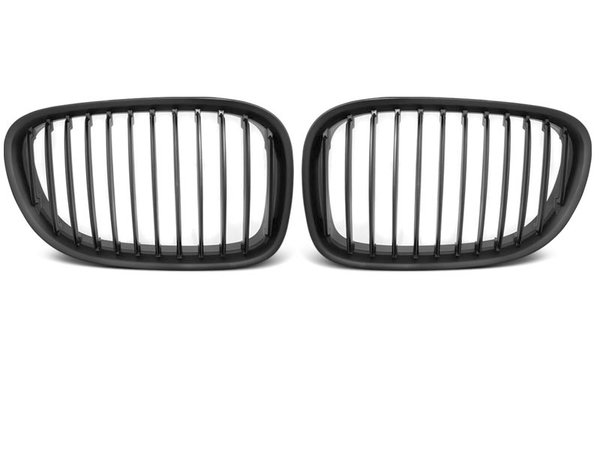 Тунинг решетки бъбреци черен мат за BMW F01 09-07.12