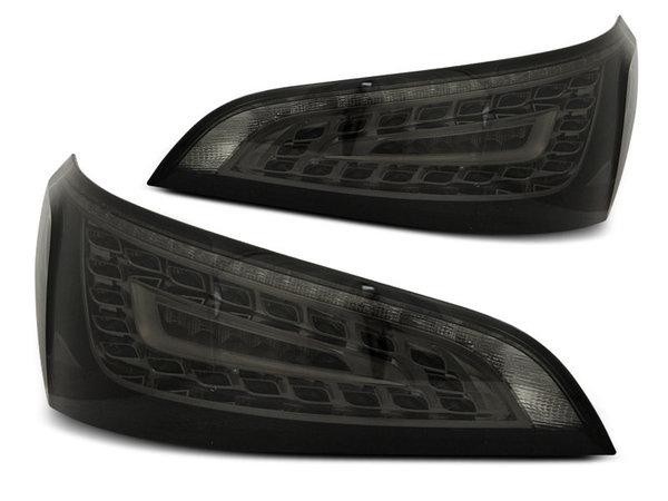 Тунинг LED стопове опушени за Audi Q5 2008-2012, версия без фабрични led стопове