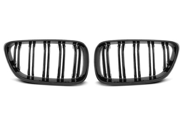 Тунинг решетки бъбреци черен лак за BMW F22 / F23 M2