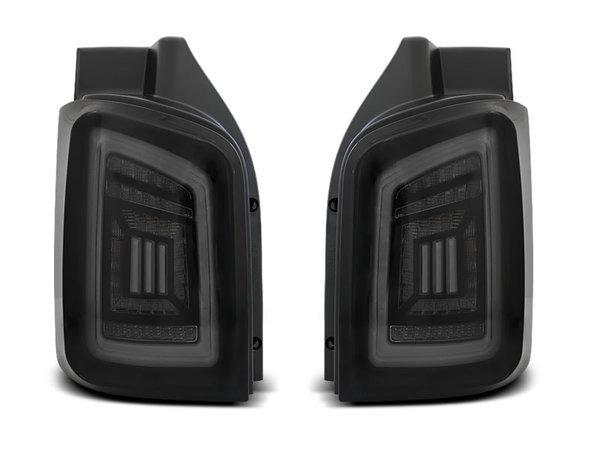 Тунинг LED BAR стопове опушени с динамични мигачи за VW T5 04.03-09 / 10-15