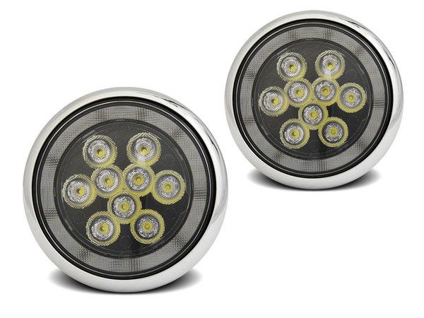 Тунинг TRU DRL LED халогени тип рали универсални за BMW MINI COOPER