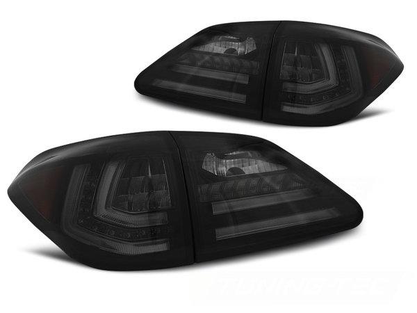 Тунинг LED BAR стопове опушени с динамични мигачи за LEXUS RX III 350 09-12