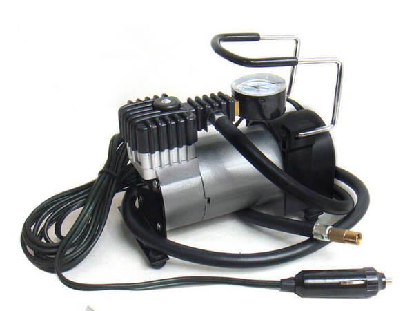 Компресор за гуми с манометър 35L/min