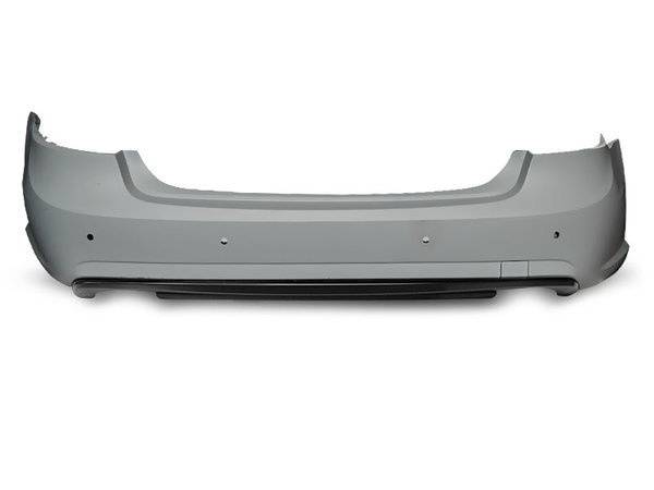 Тунинг броня задна с отвори за парктроник за MERCEDES W212 09-13 SEDAN AMG PDC 2W