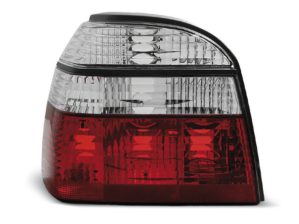 Тунинг стопове за Volkswagen GOLF 3 09.1991-08.1997 хечбек, кабрио с червена и бяла основа