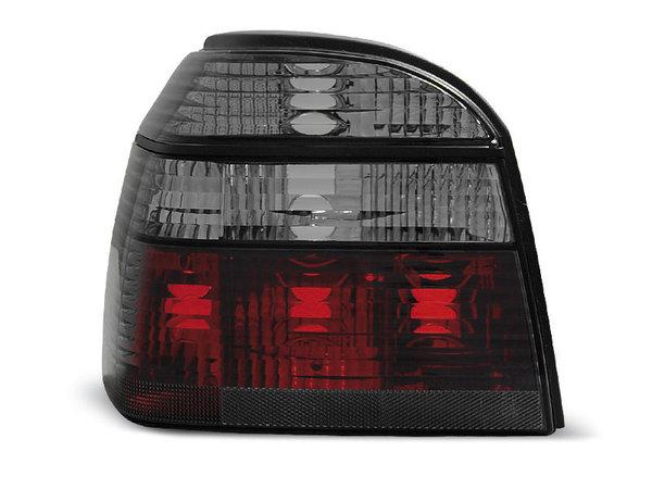 Тунинг стопове за Volkswagen GOLF 3 09.1991-08.1997 хечбек, кабрио с червена и опушена основа