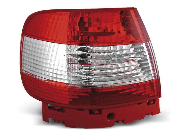 Тунинг стопове за Audi A4 11.1994-09.2000 седан с червена и бяла основа