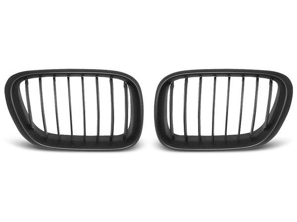 Тунинг решетки бъбреци черни за BMW X5 E53 09.99-10.03