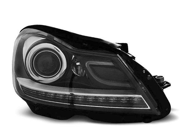 Тунинг фарове черни за MERCEDES W204 C-KLASA 2011-2014