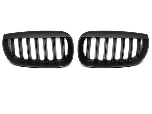 Тунинг решетки бъбреци черни за BMW X3 E83 04-06
