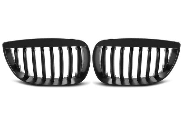 Тунинг решетки бъбреци черни за BMW E87/E81 04-07