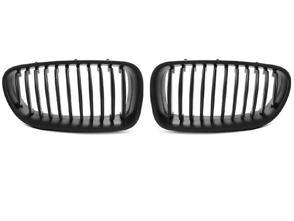 Тунинг решетки бъбреци черни за BMW F10 / F11 10-06.13