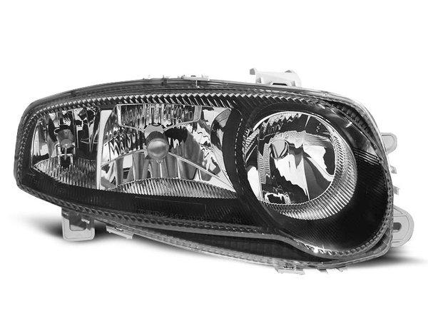 Тунинг рефлекторни фарове хром с черна рамка за Alfa Romeo 147 01.2001-12.2004