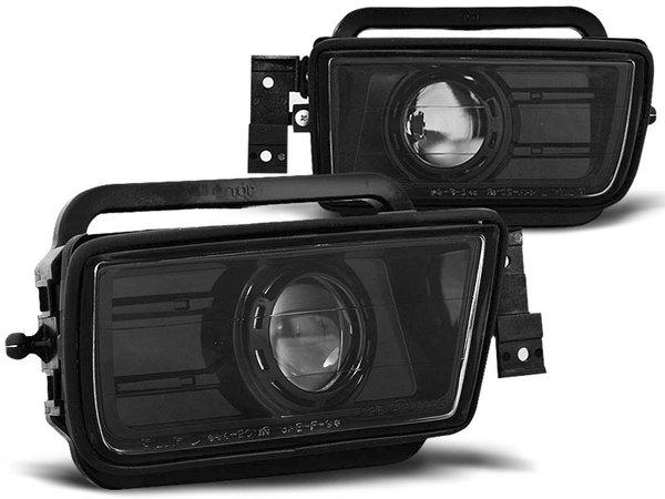Тунинг халогени черни с лупи за BMW E34 02.88-12.95