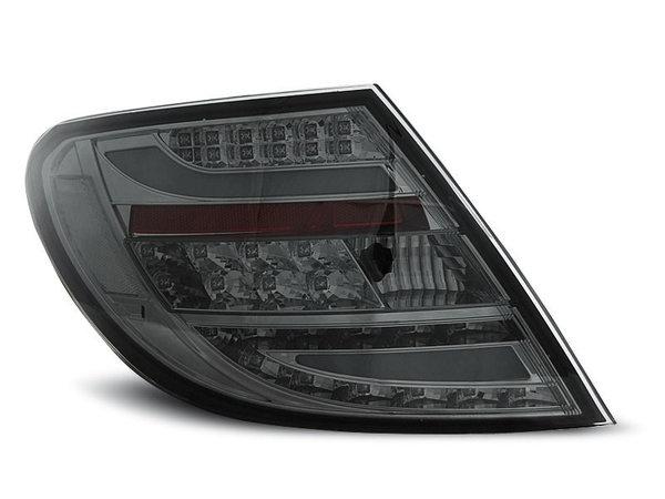 Тунинг LED стопове опушени за Mercedes C-класа W204 2007-2010 седан