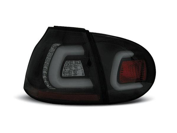 Тунинг LED стопове черни опушени за Volkswagen GOLF 5 10.2003-2009 хечбек